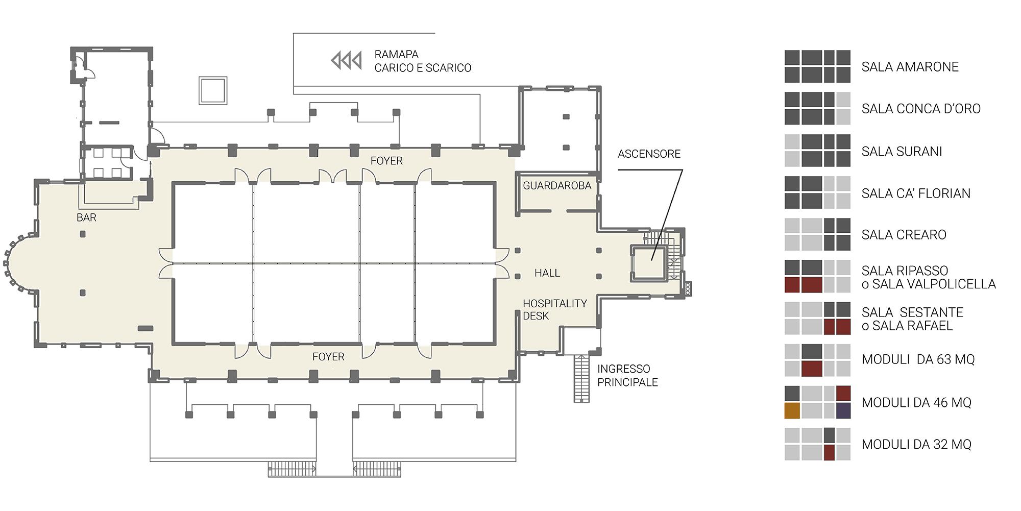 Sale Centro Congressi
